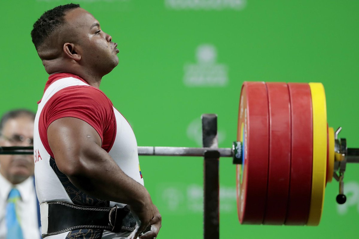 Colombia's Fabio Torres has been named Americas Paralympic Committee Athlete of the Month for December following his performance at the World Para Powerlifting Americas Open Championships ©Getty Images