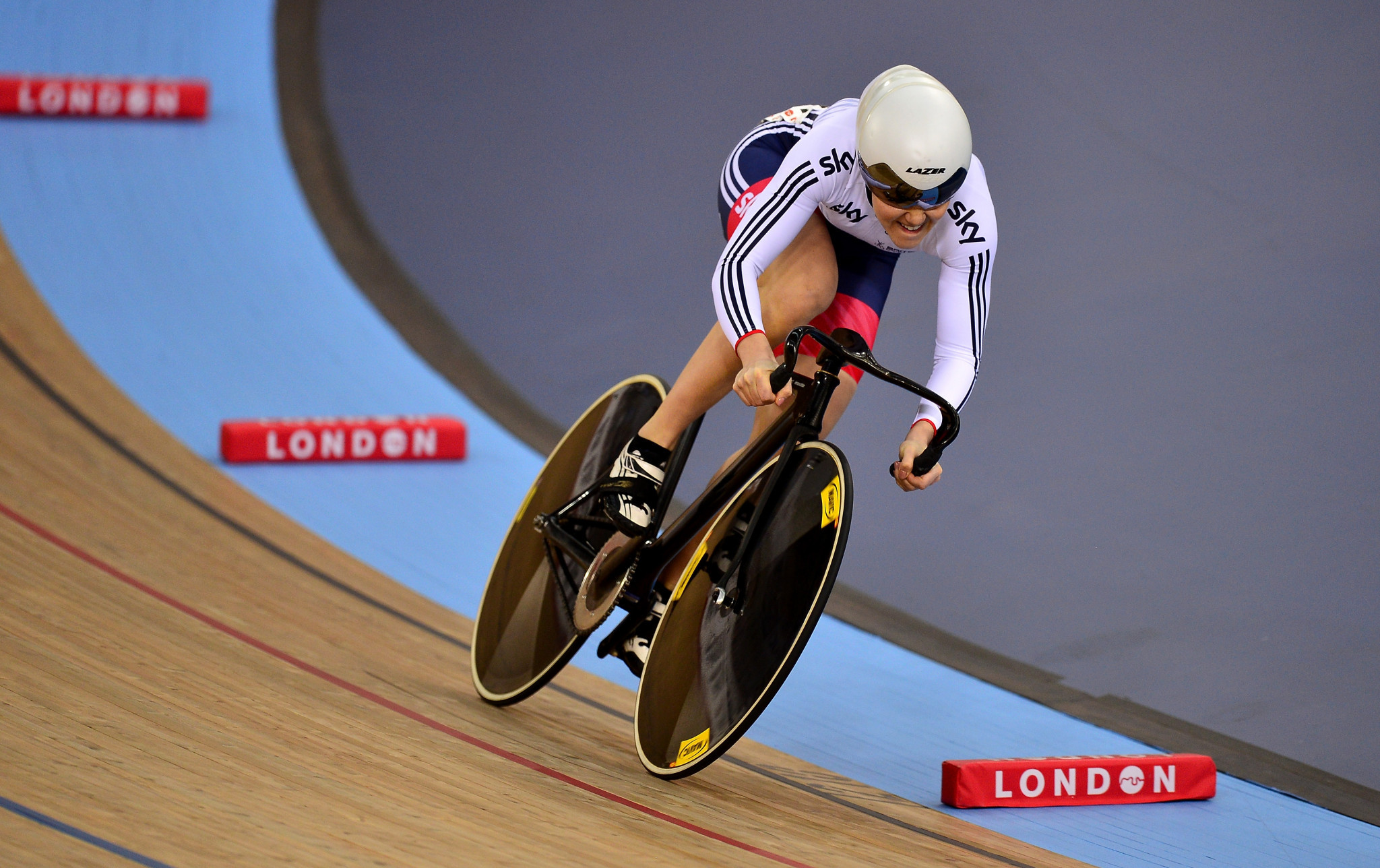 Jess Varnish is a former European team sprint champion and world silver medallist ©Getty Images