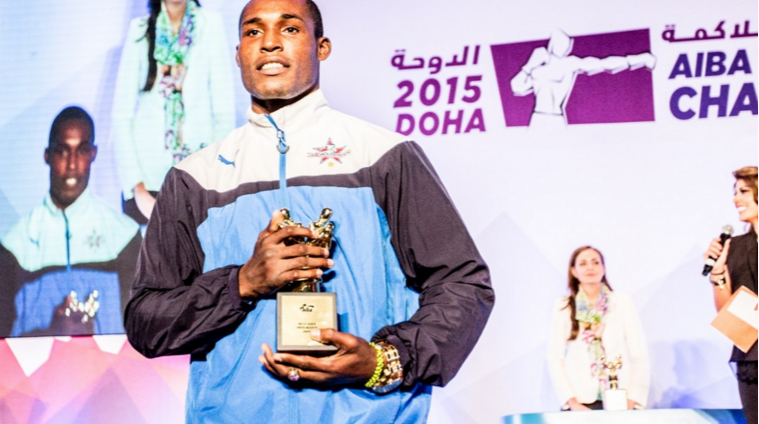 Cuba's Julio La Cruz named male boxer of the year at AIBA awards