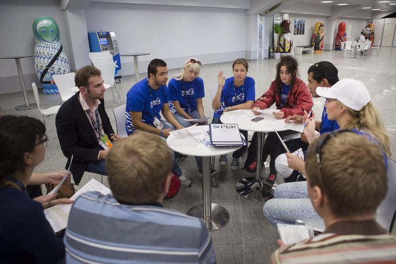 Students on RIOU's Master in Sports Administration course learn through workshops, masterclasses and practical application of knowledge gained in lectures and seminars ©RIOU
