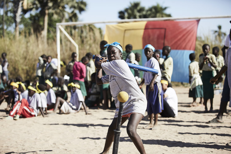 A development programme using the softball and Baseball5 formats and designed to address inequalities and help social changes has been held in Gambia ©WBSC