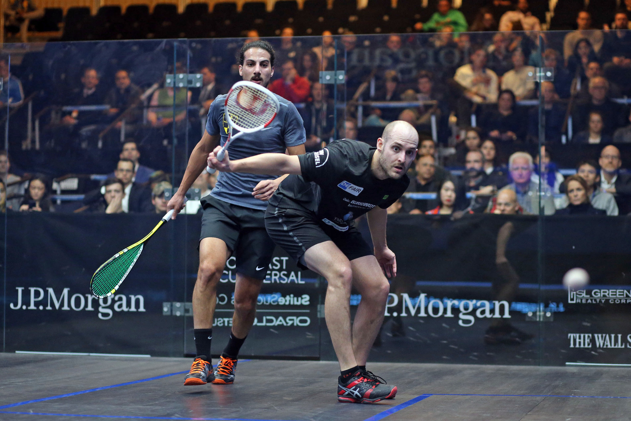 Mueller defeats Hesham at PSA Tournament of Champions to set-up world number one clash