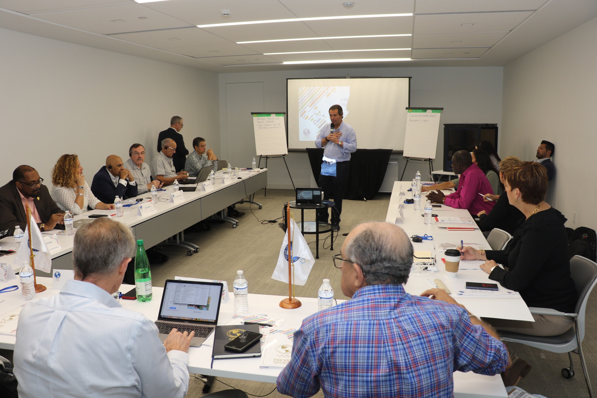 Panam Sports leaders meet in Miami to discuss future priorities and plans
