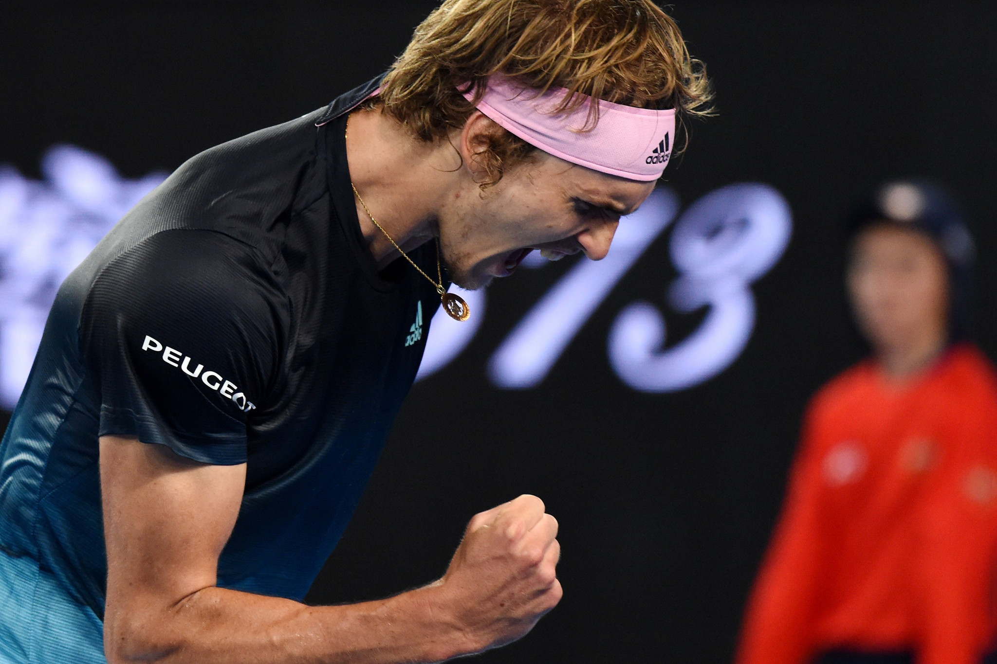 Germany's Alexander Zverev battled to a five-set win over Frenchman Jeremy Chardy ©Getty Images