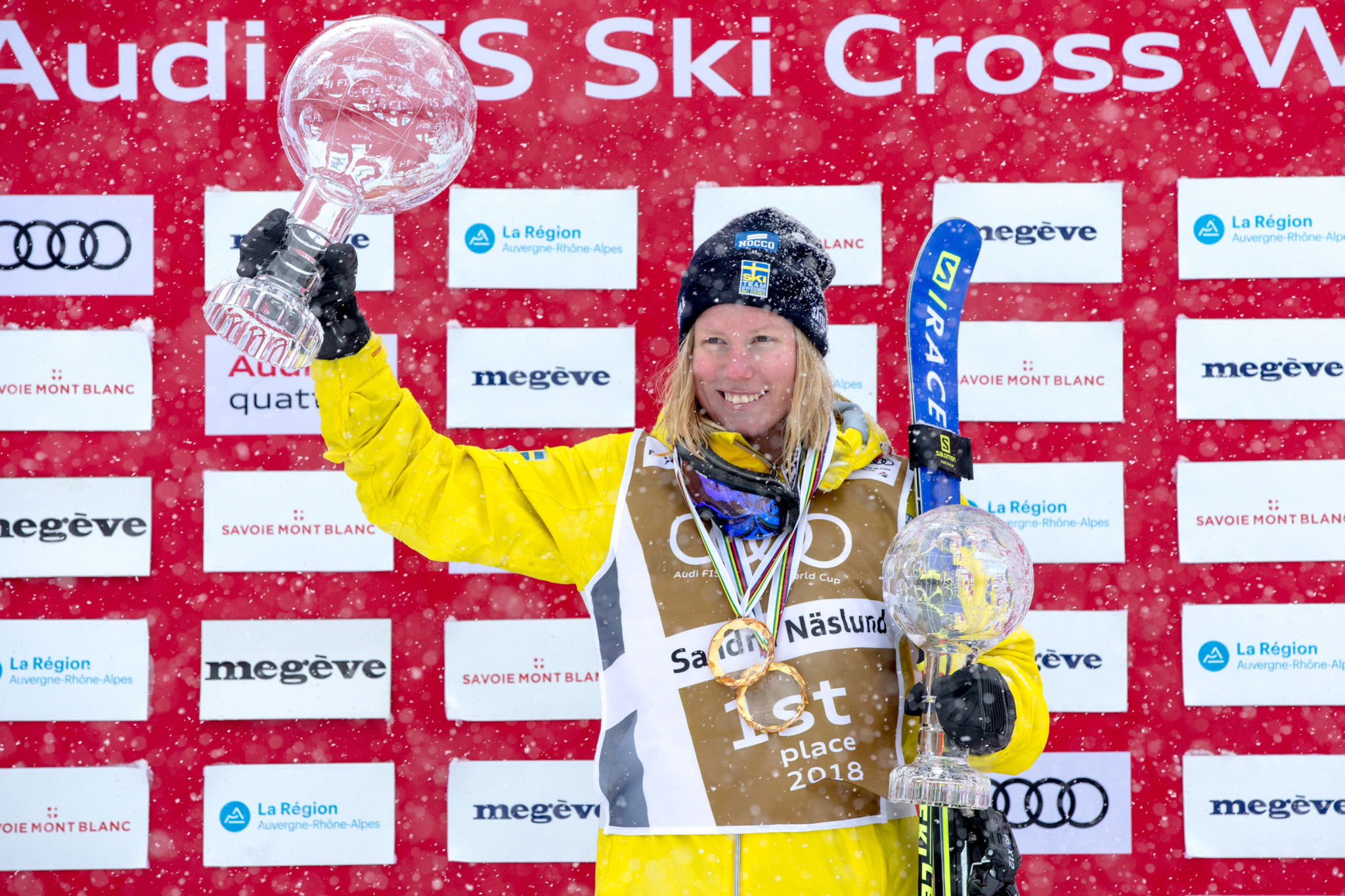 FIS Ski Cross World Cup set to continue in Idre Fjall with home favourite Naeslund out to maintain impressive form
