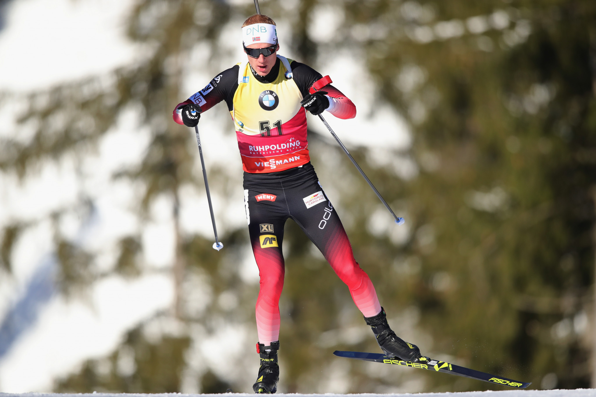 Johannes Thingnes Bø overcomes older brother to secure eighth victory of IBU World Cup season