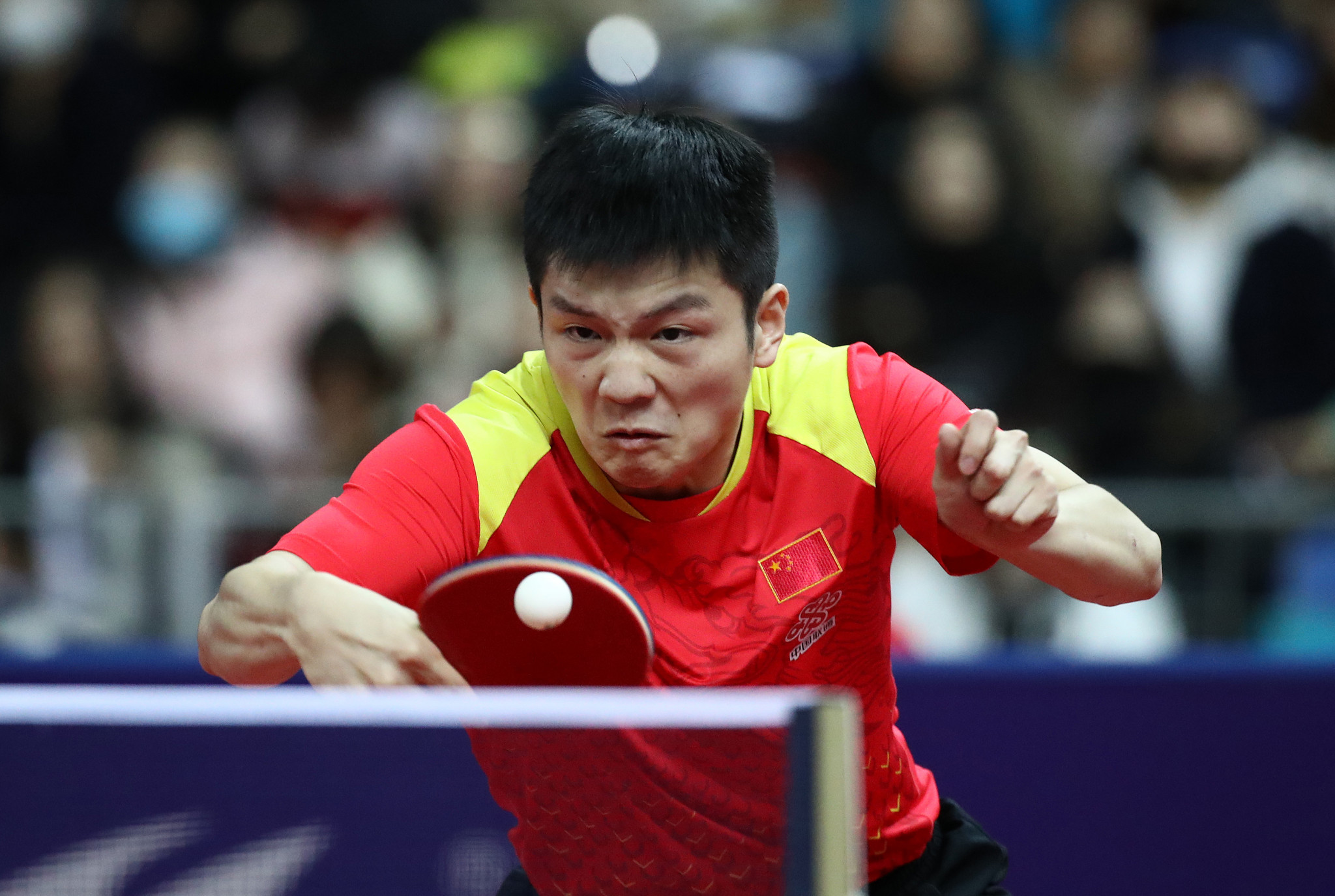 China's Fan through to round two as ITTF Hungarian Open title defence begins