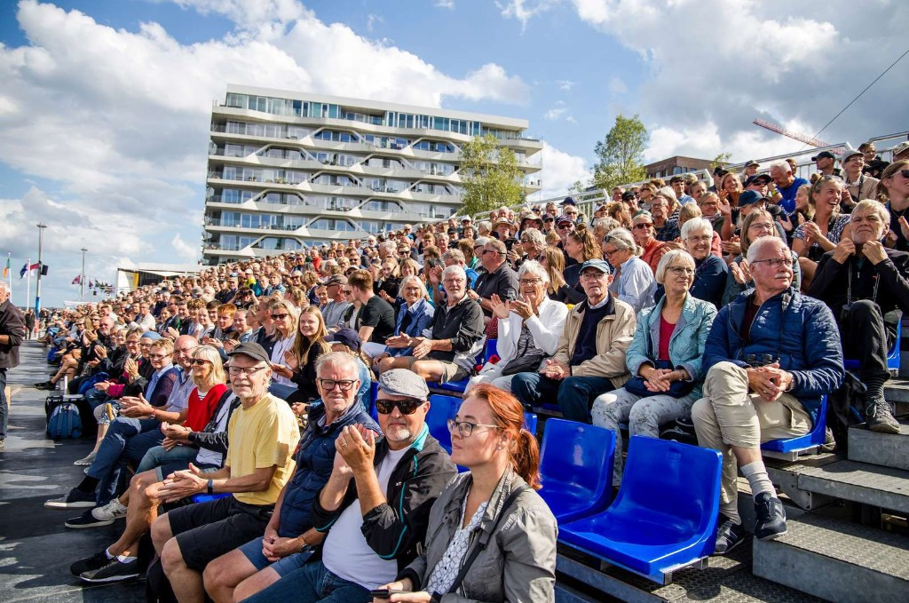 The 2018 Sailing World Championships in Aarhus achieved a total attendance of 400,000 ©Aarhus 2018