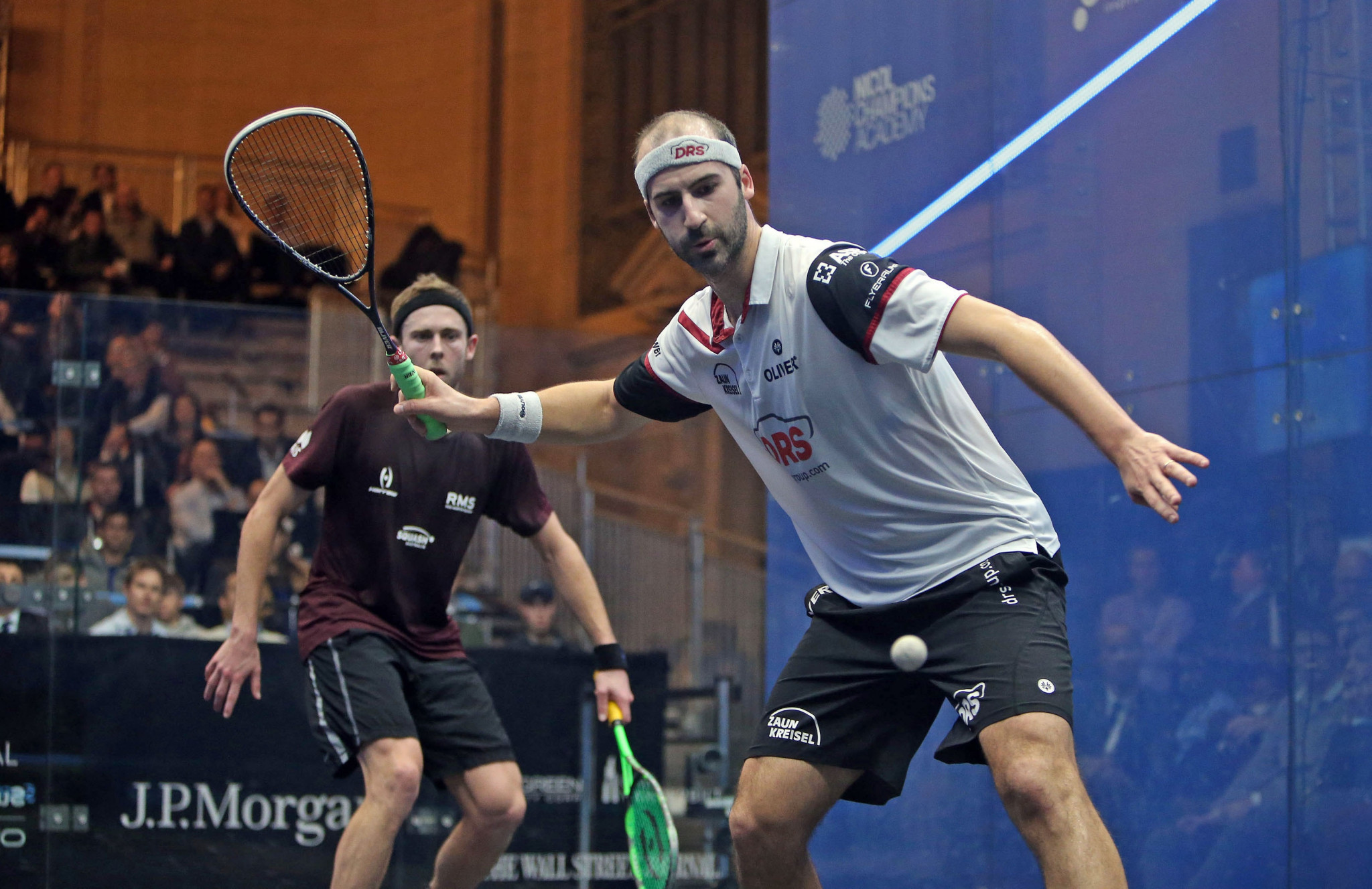 Rösner begins title defence with win on day two of PSA Tournament of Champions