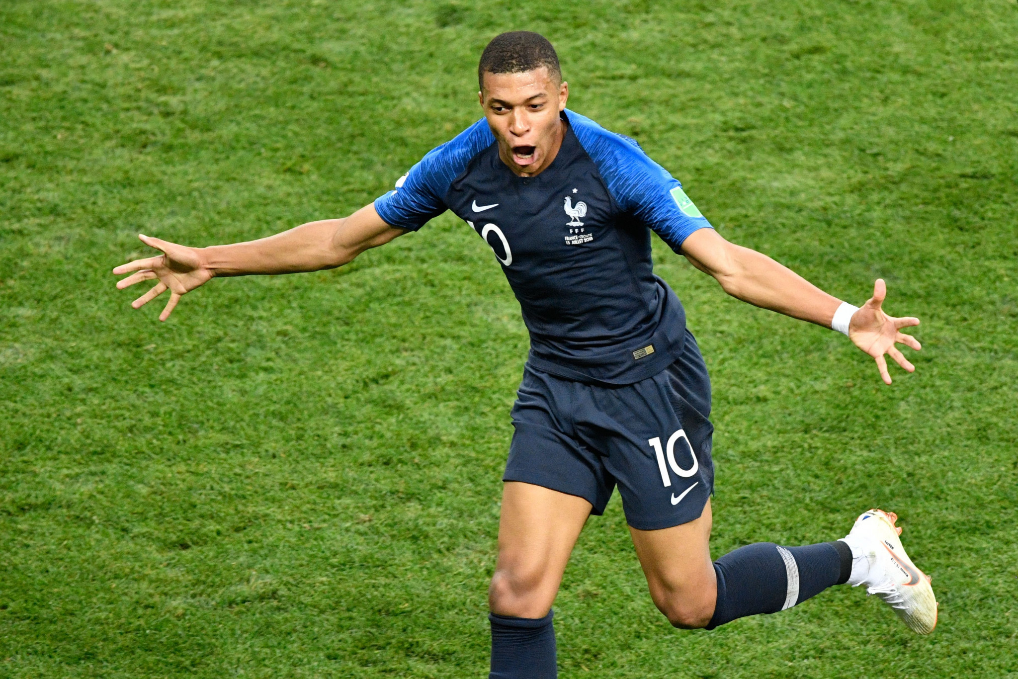 Kylian Mbappé, who played a key role in France winning the 2018 FIFA World Cup, is one of six nominees for sportsman of the year ©Getty Images