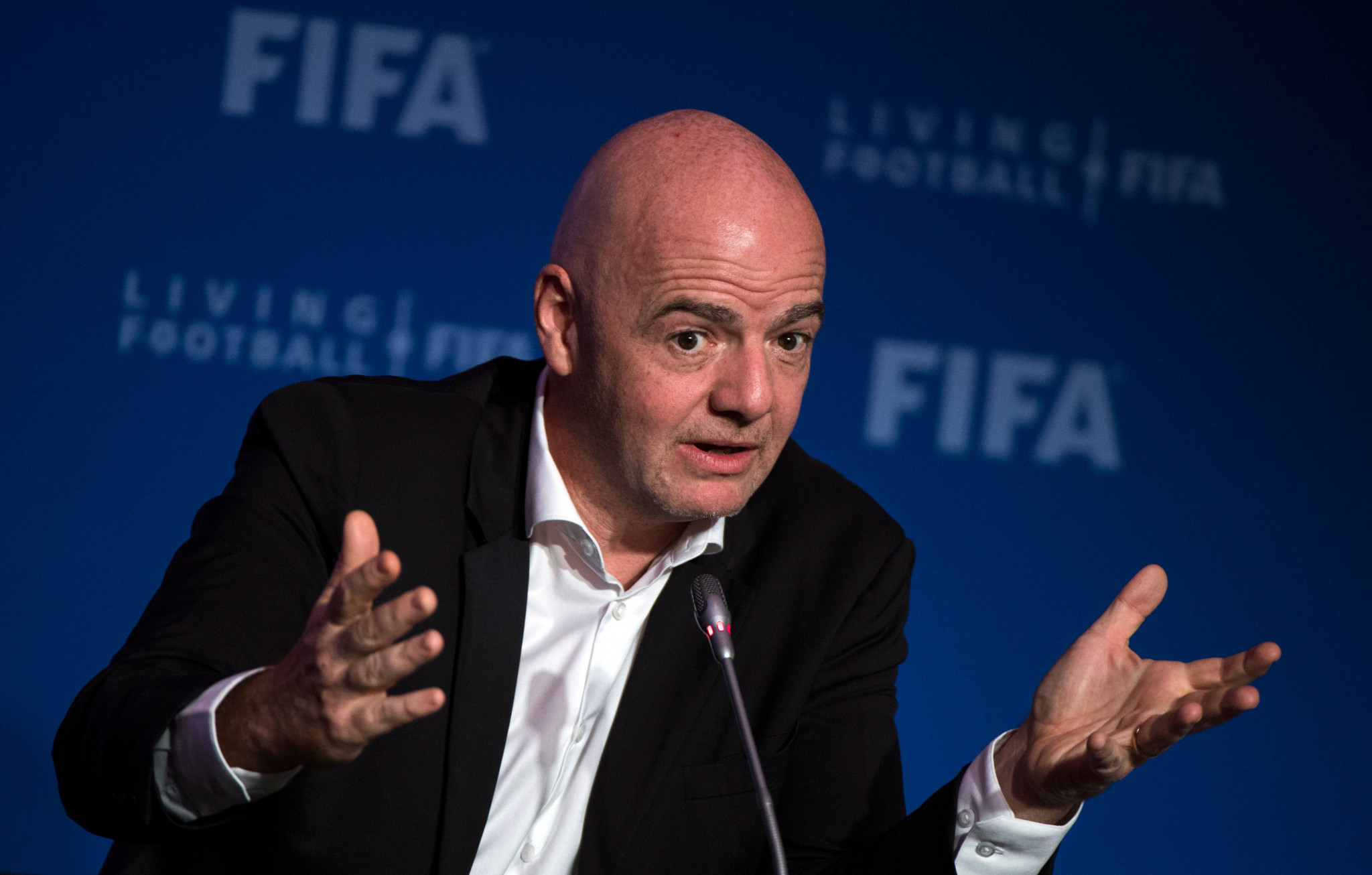 FIFA President Infantino claims strong support for 48-team World Cup in Qatar