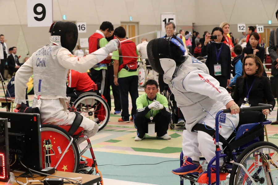 IWAS announce date change for 2019 Wheelchair Fencing World Championships