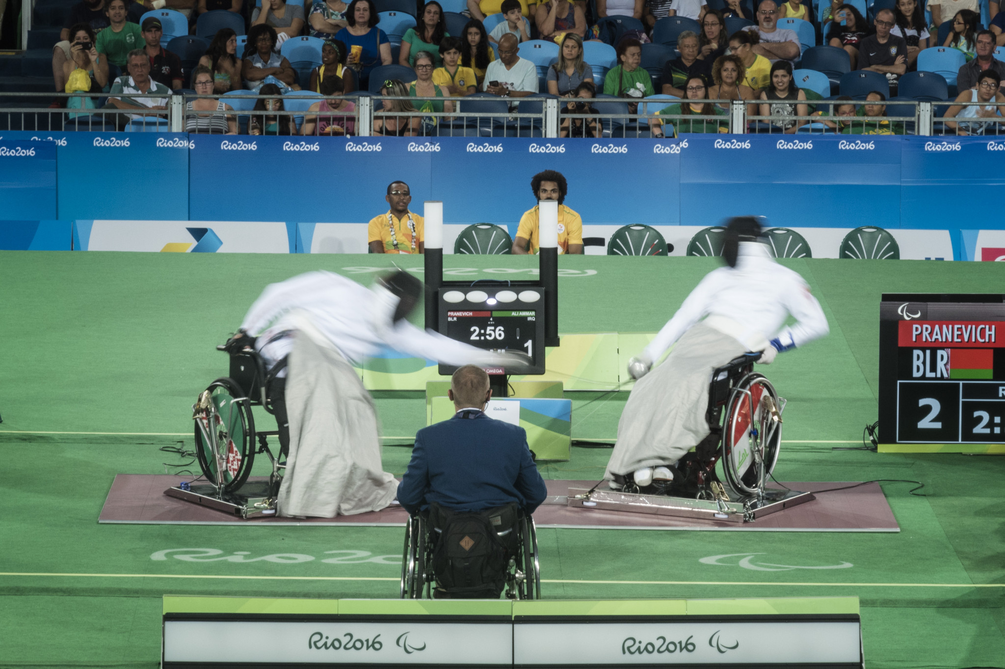 Participants at the 2019 IWAS Wheelchair Fencing World Championships will have the chance to qualify for the Tokyo 2020 Paralympic Games ©Getty Images