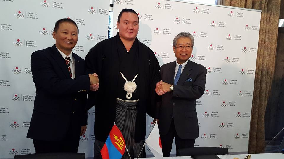 Mongolian National Olympic Committee sign partnership agreement with Japanese counterparts ahead of Tokyo 2020