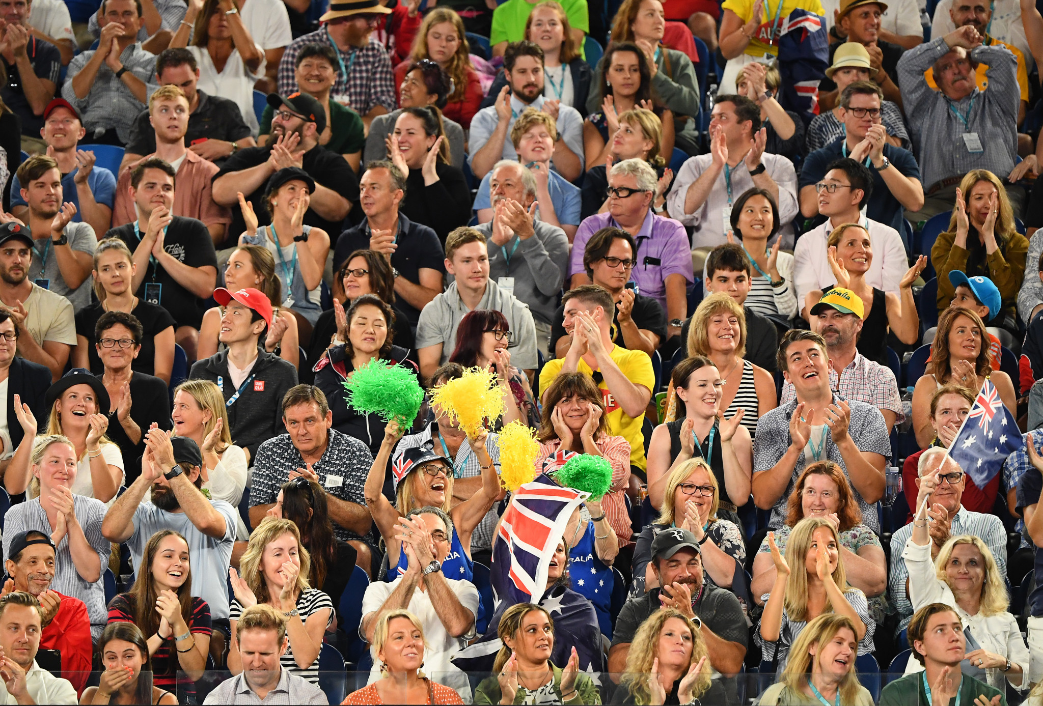 Australian fans were hoping to see several of their favourites advance ©Getty Images