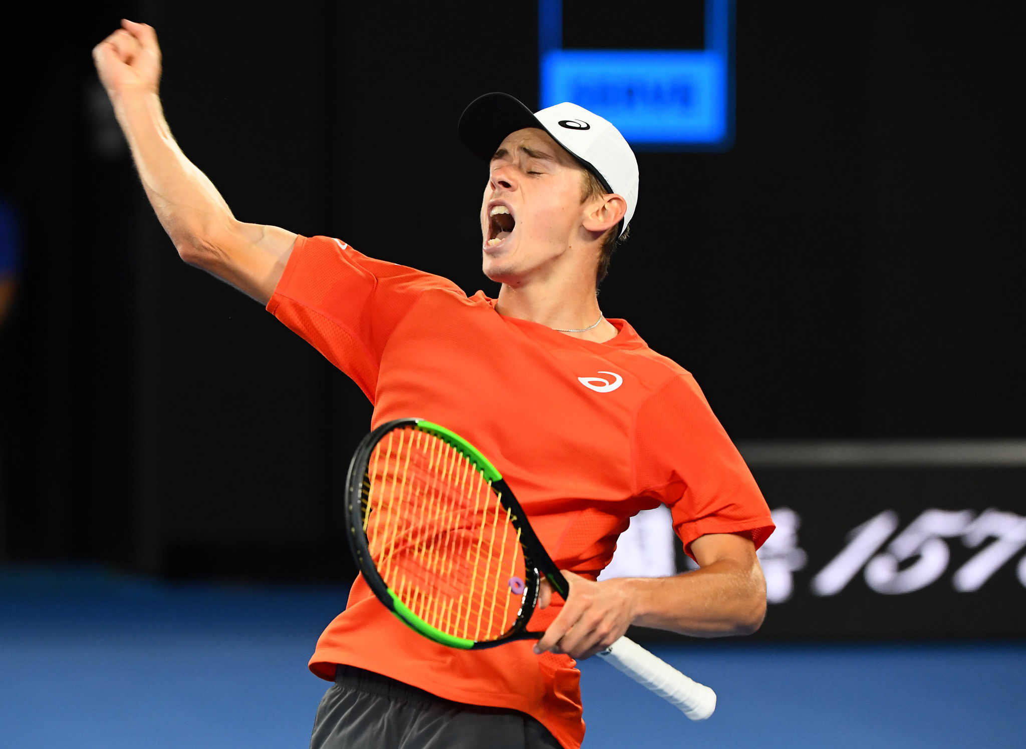 Australian teenage Alex de Minaur aimed to cause an upset against Rafael Nadal ©Getty Images