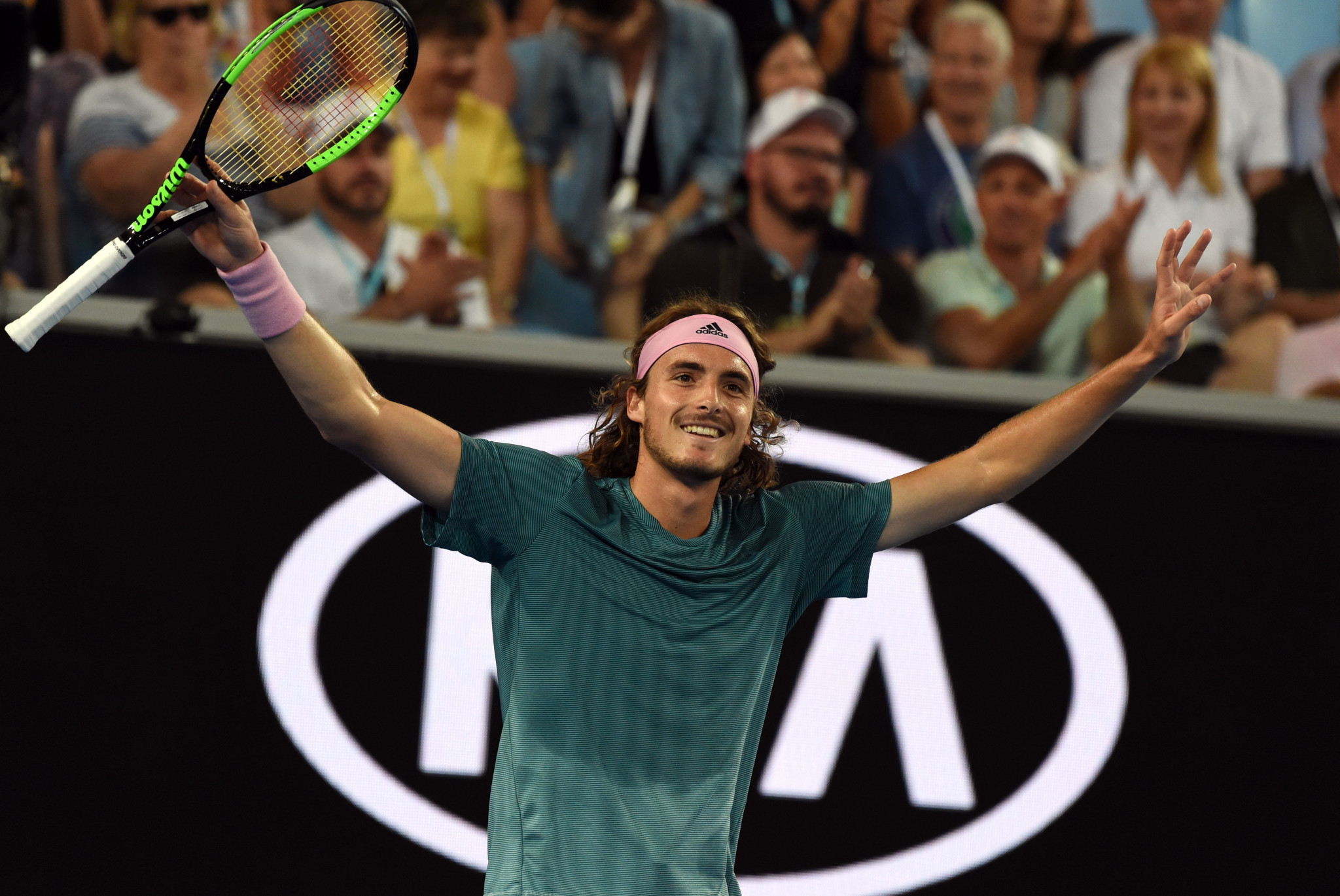 He will now face talented Greek youngster Stefanos Tsitsipas ©Getty Images