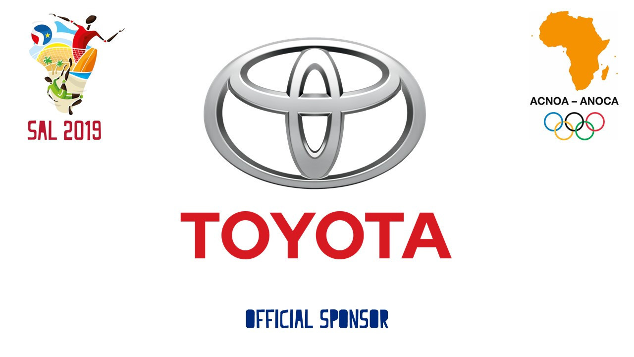 Toyota named official sponsor of Sal 2019 African Beach Games
