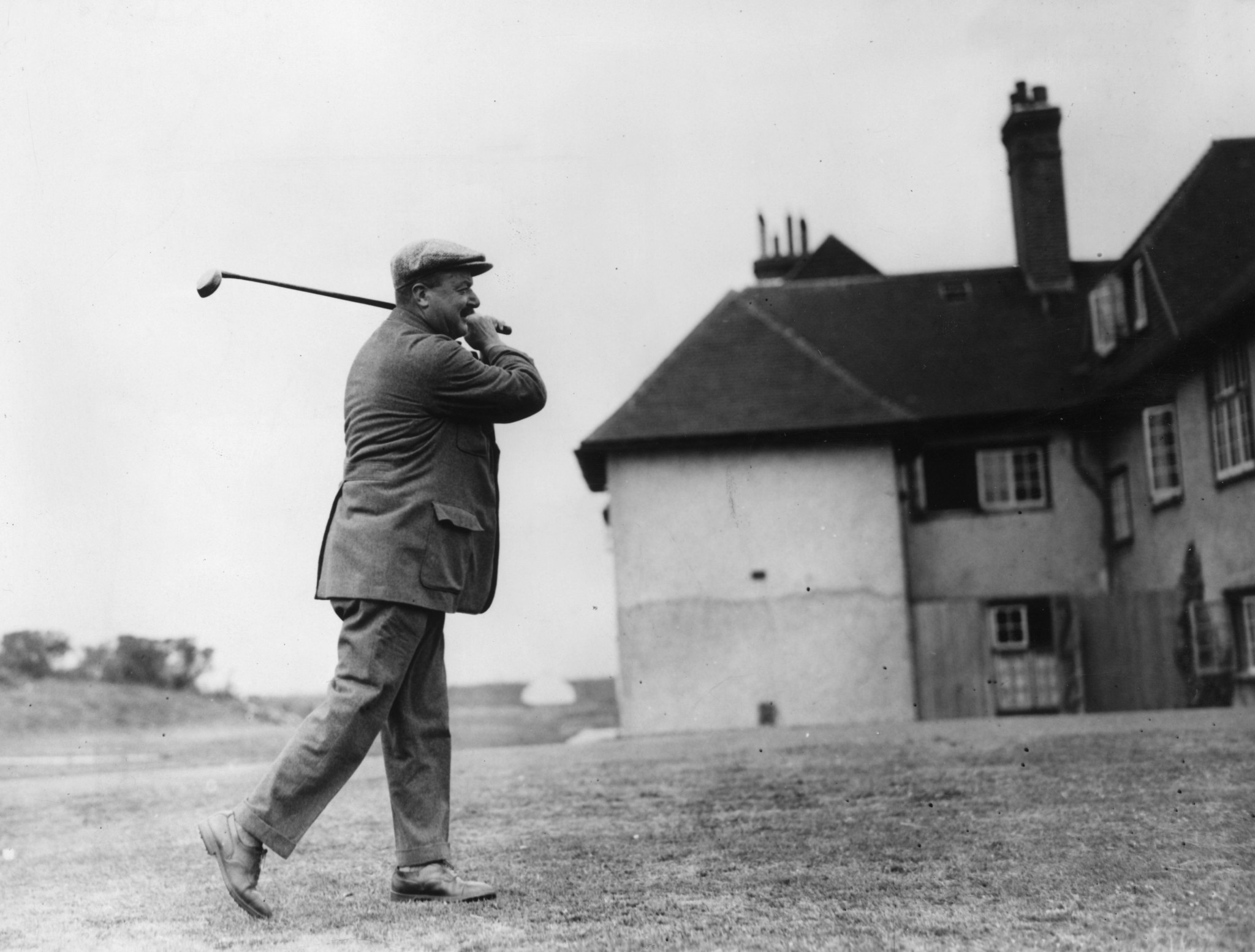 Arnaud Massy, the first French winner of the Open Championship in 1907, led France to team glory in Paris ©Getty Images