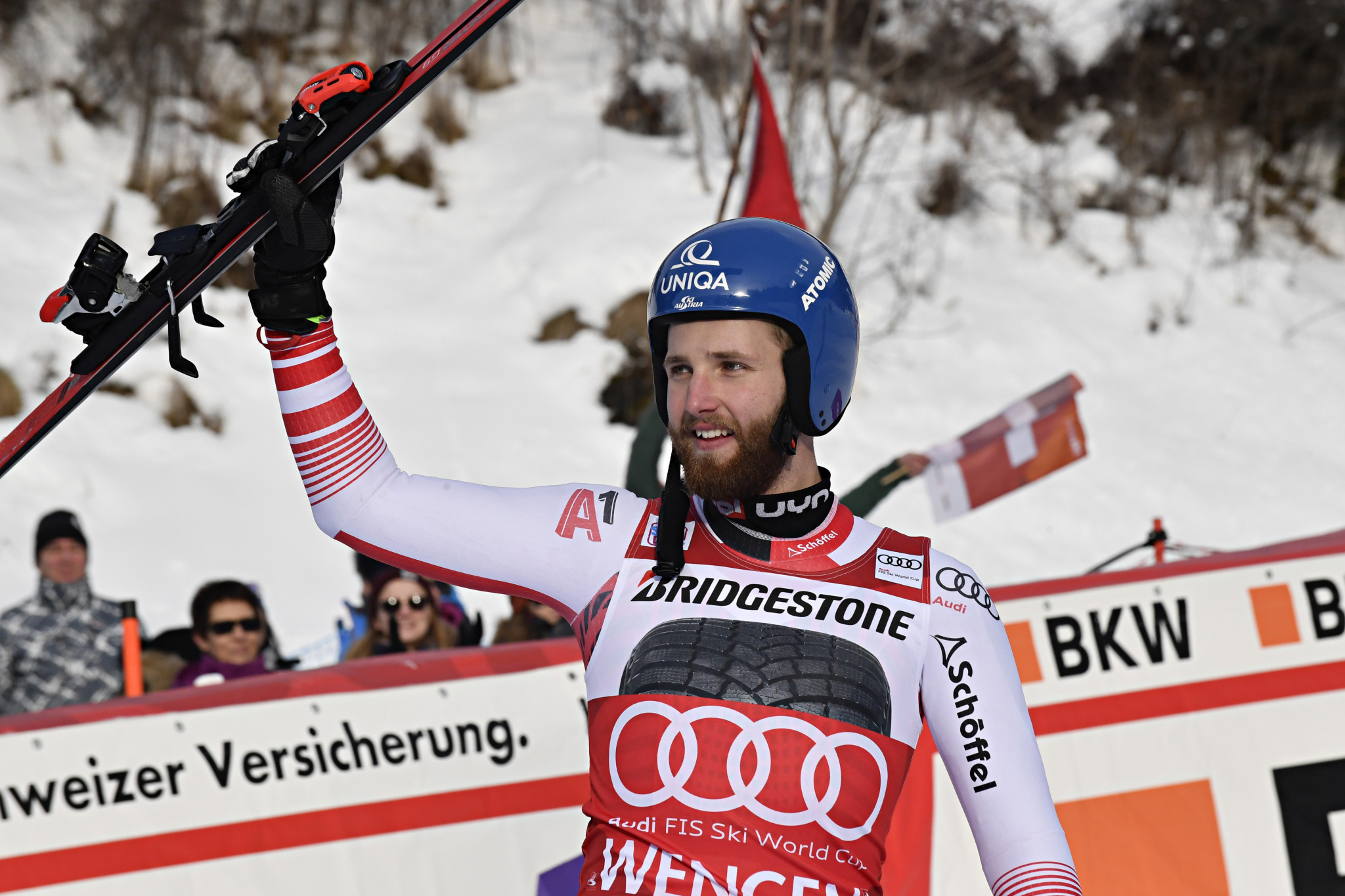 Schwarz and Siebenhofer claim first victories at FIS Alpine Skiing World Cup