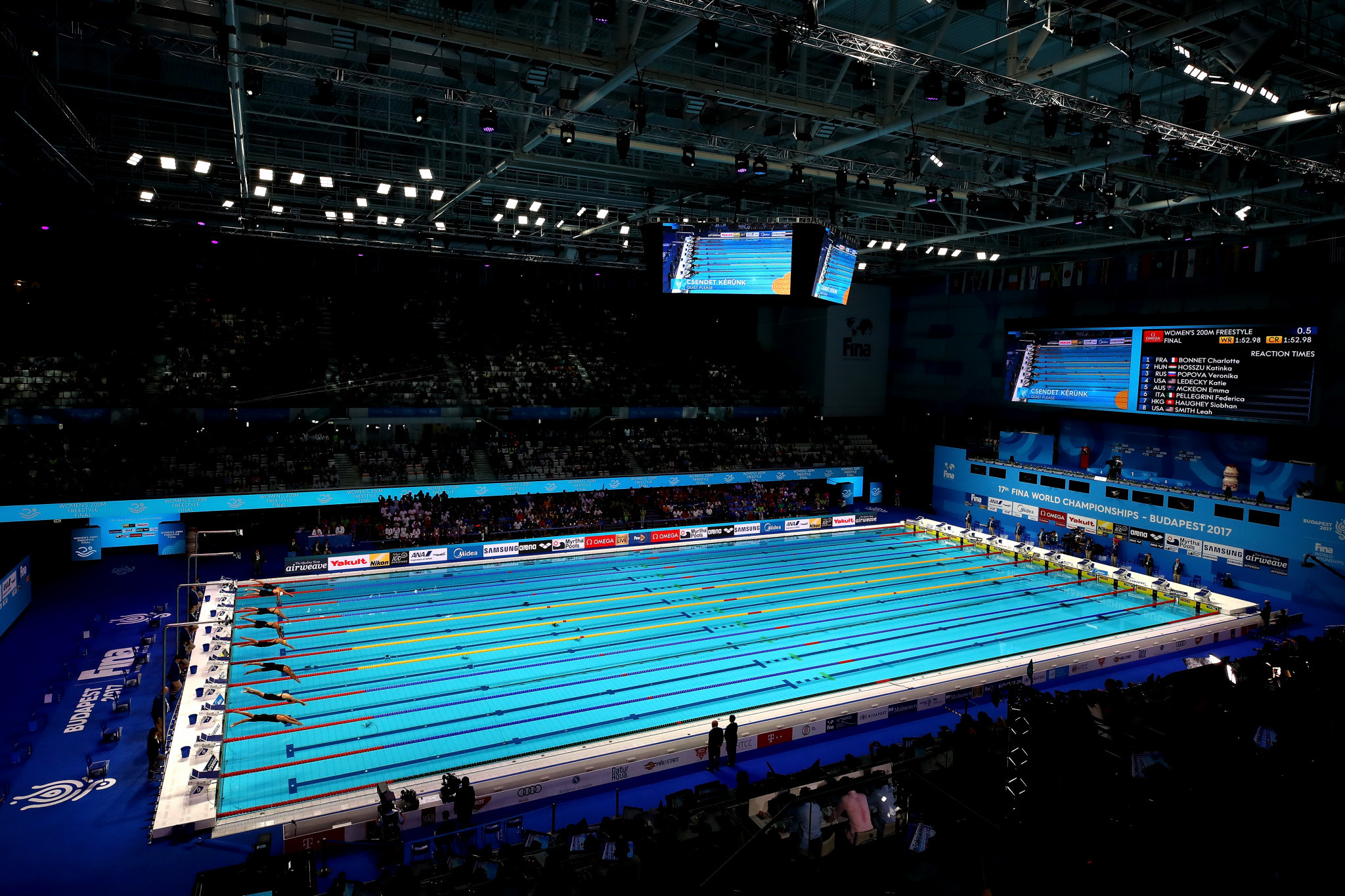 Budapest held last year's FINA World Championships and is one of three cities due to host Champions Series events ©Getty Images