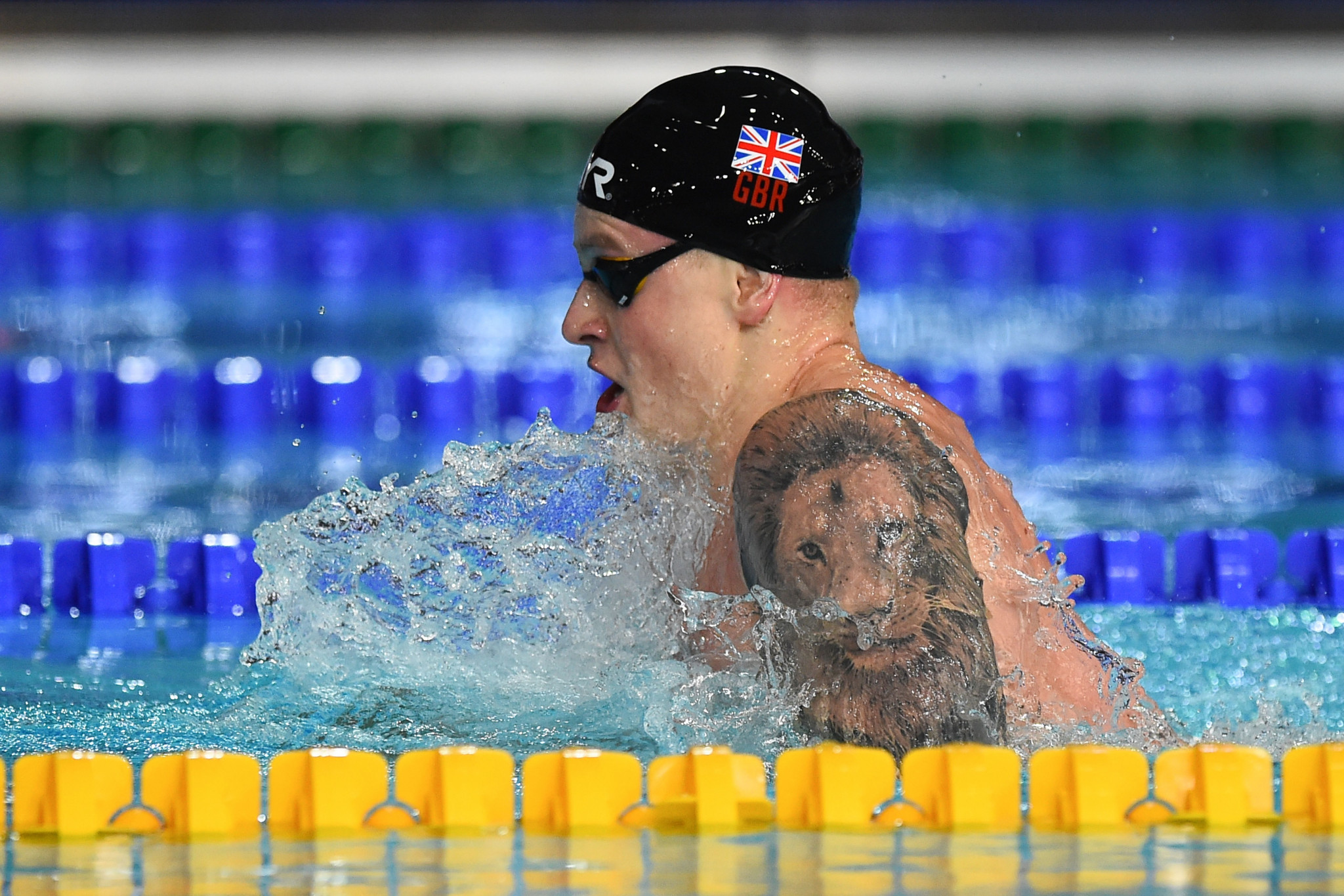 Britain's Adam Peaty is among the swimmers to have criticised FINA for the lack of prize money at its events ©Getty Images