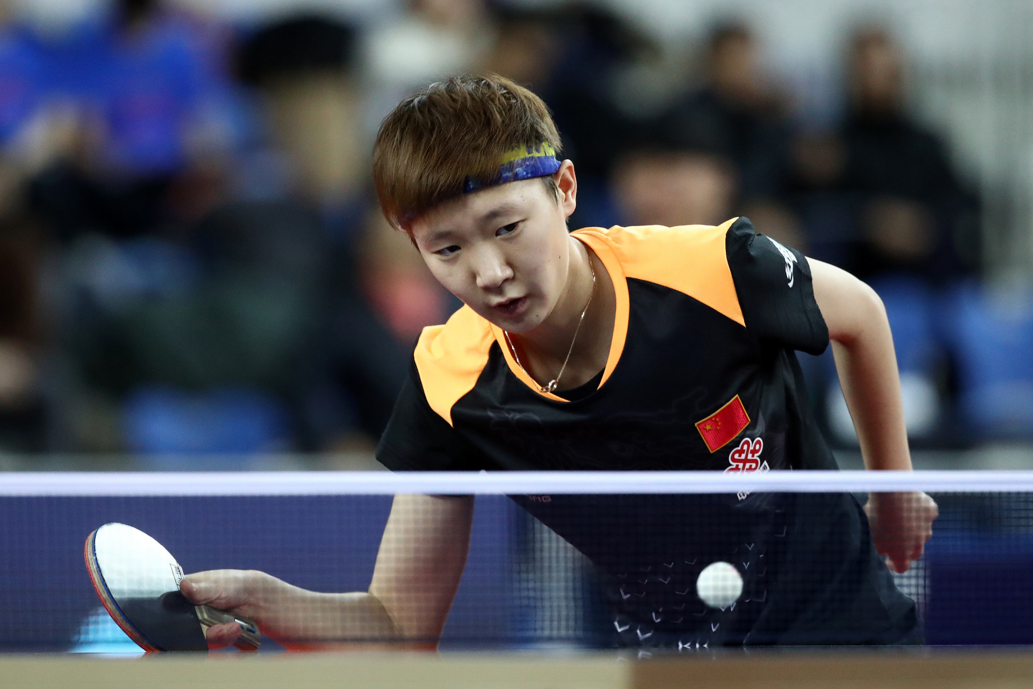 Defending champion Wang Manyu is one of four Chinese players through to the women's singles semi-finals at the ITTF Hungarian Open in Budapest ©Getty Images