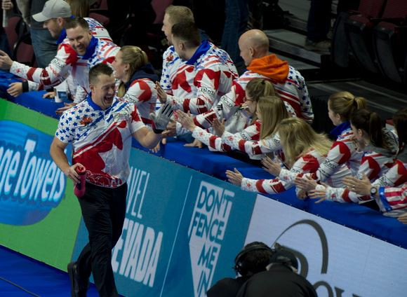 Team North America gain first wins at Continental Cup of Curling