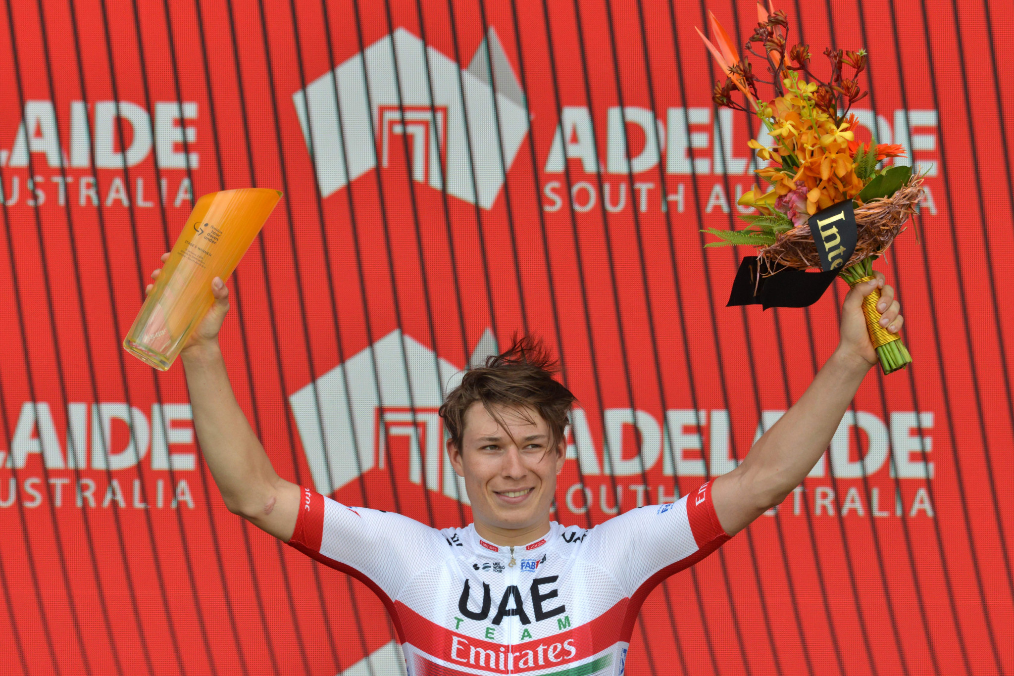 Jasper Philipsen was awarded the stage victory after Caleb Ewan was relegated ©Getty Images