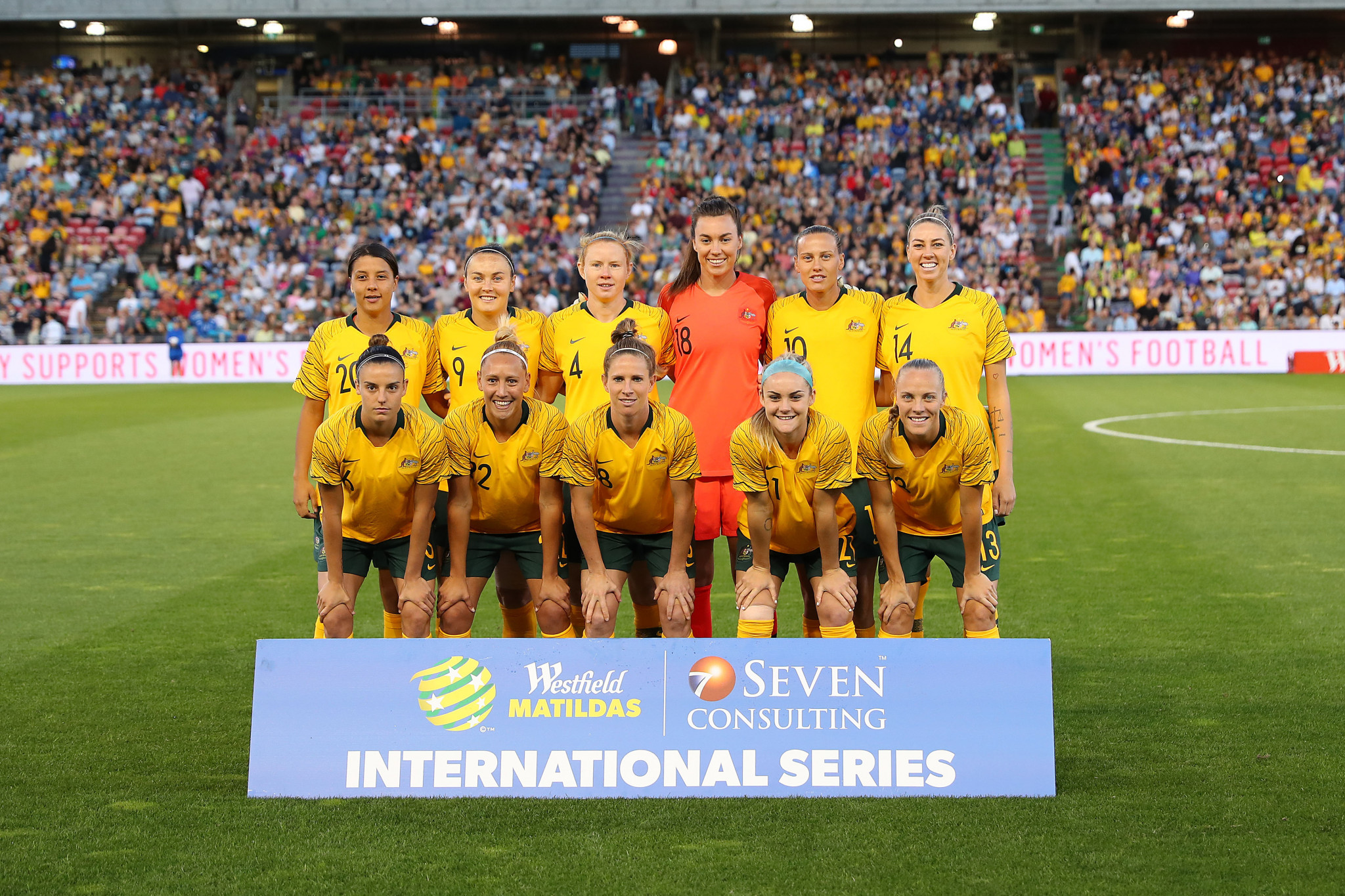 Australia are considered among the favourites to win this year's FIFA Women's World Cup in France ©Getty Images