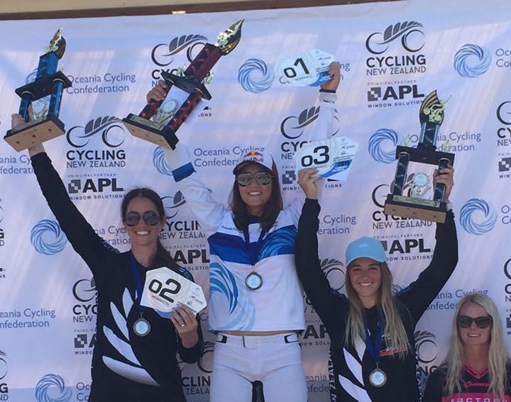 Sakakibara siblings triumph at Oceania BMX Championships