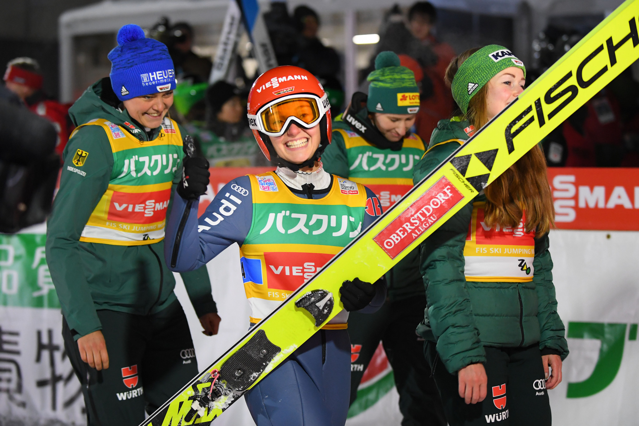Germany win team titles at FIS Ski Jumping World Cup events in Zao and Zakopane