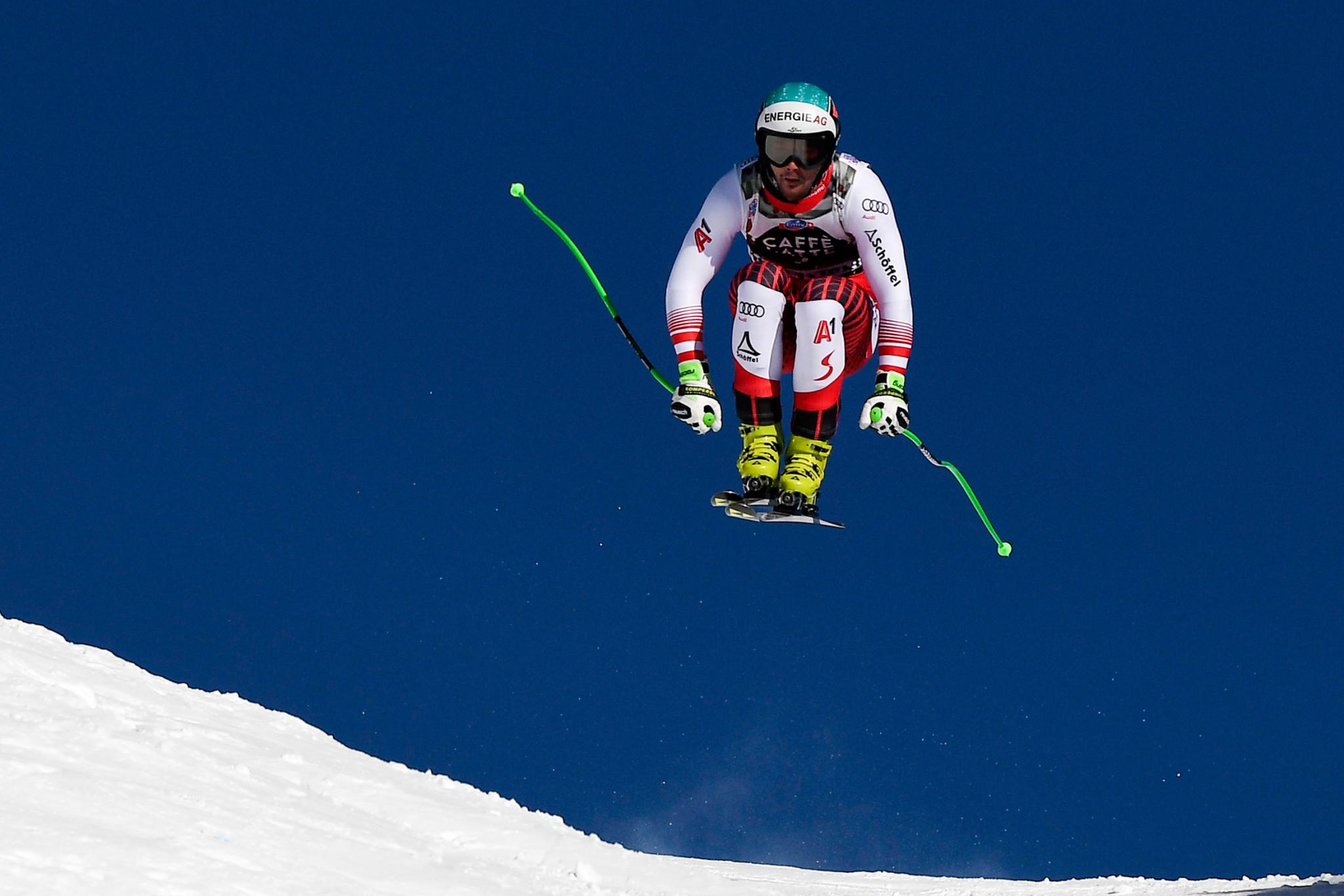 Austrian Vincent Kriechmayr won the men's downhill event in Wengen ©Getty Images