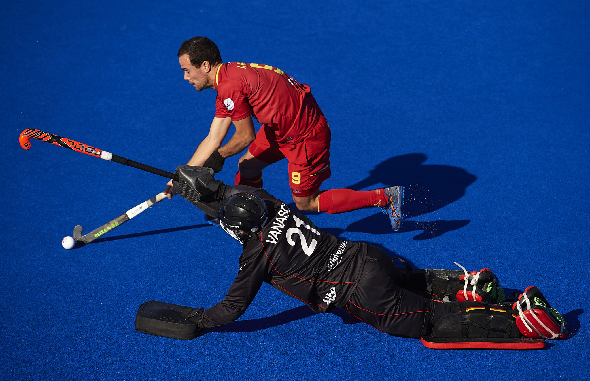 Belgium beat Spain in a shootout to win the first match of the FIH Pro League ©Getty Images
