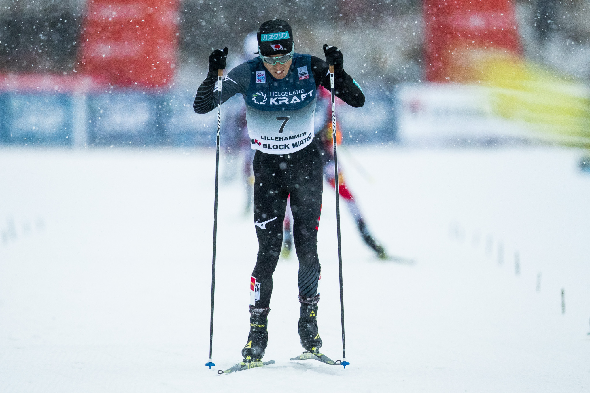 Akito Watabe finished as the runner-up ©Getty Images