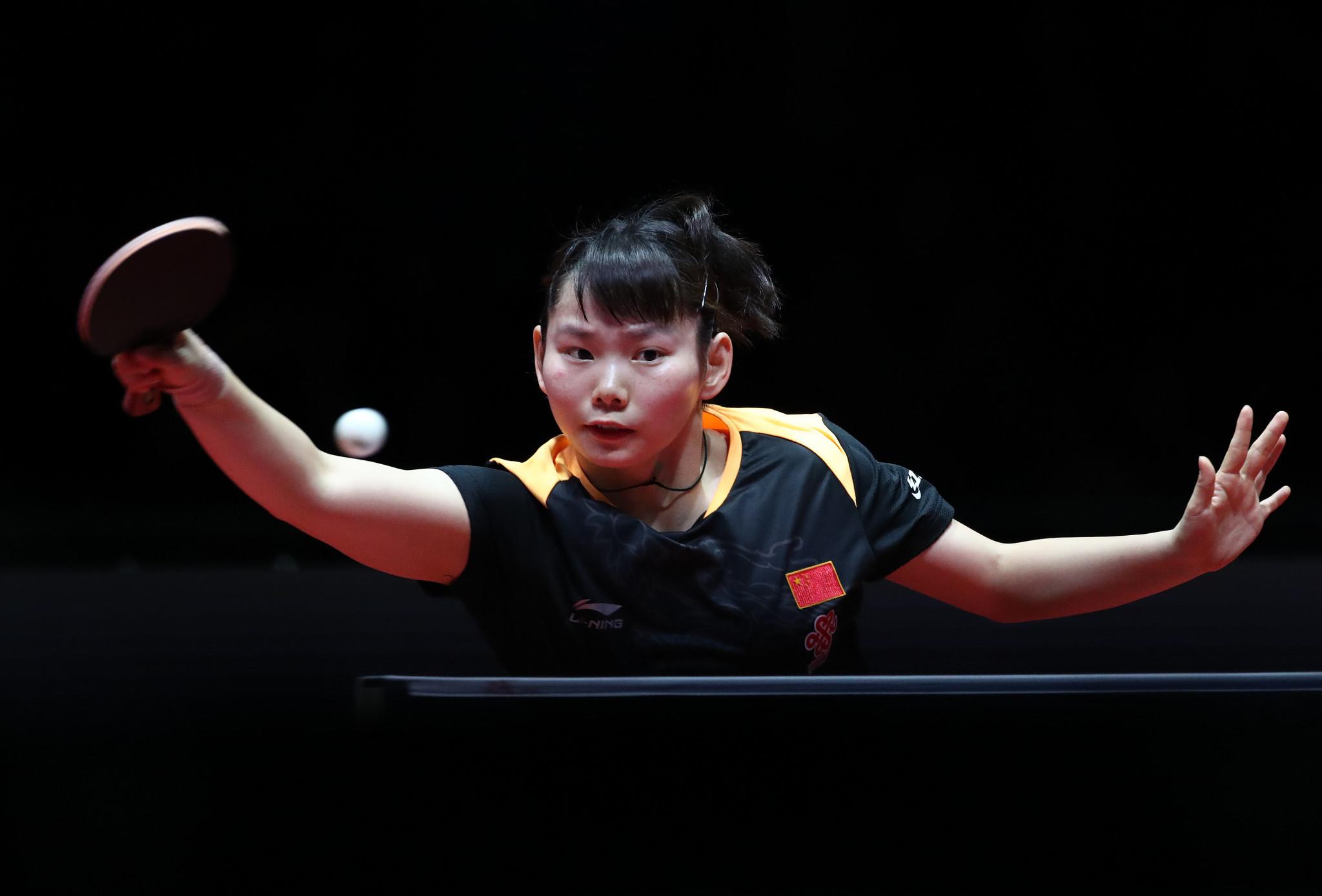 Wang and Zhu win all-Chinese women's doubles final at ITTF Hungarian Open