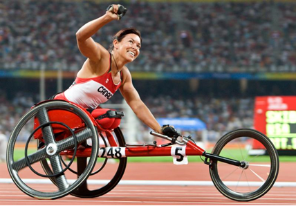 Wheelchair racing legend Petitclerc headlines Canadian Paralympic Hall of Fame's 2015 inductees