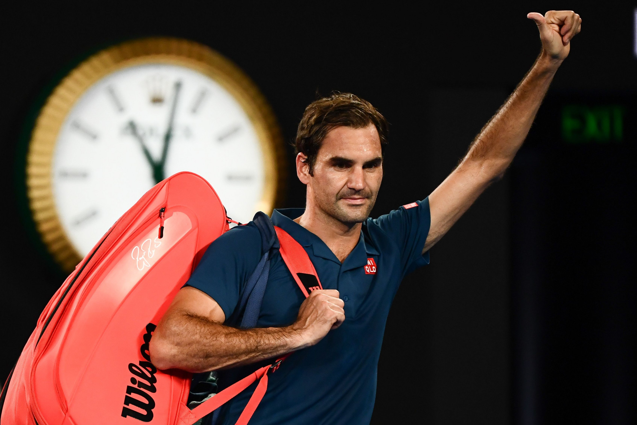 The result ended Roger Federer's hopes of a third consecutive Australian Open title ©Getty Images
