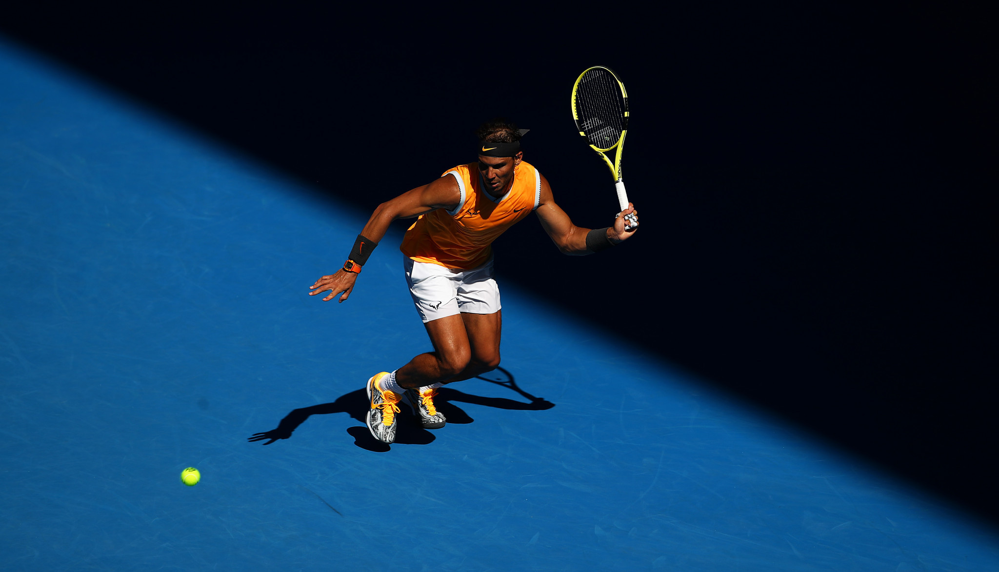 The second seed secured a fourth consecutive straight sets win ©Getty Images