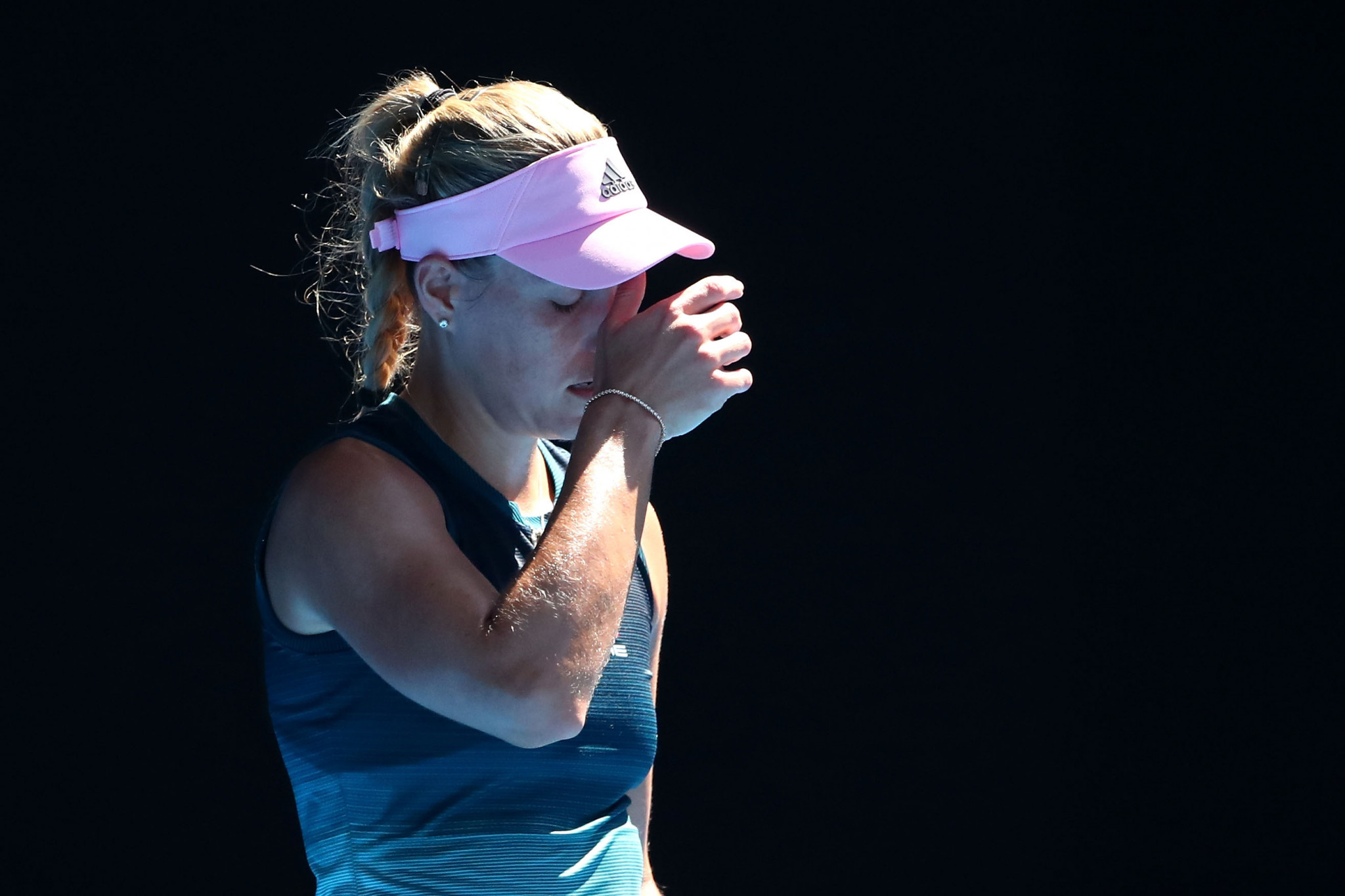World number two Angelique Kerber suffered a surprise defeat ©Getty Images