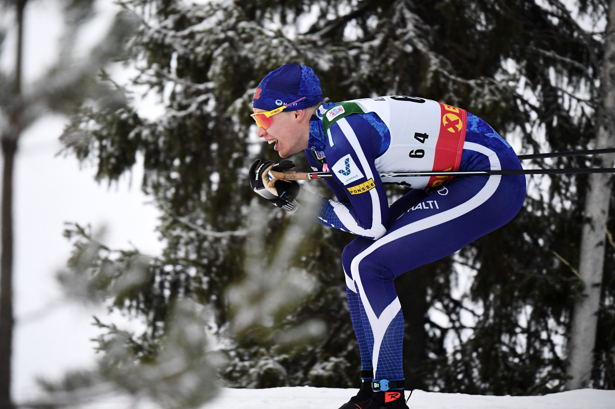 Finland's Iivo Niskanen won the men's event in Estonia ©Getty Images