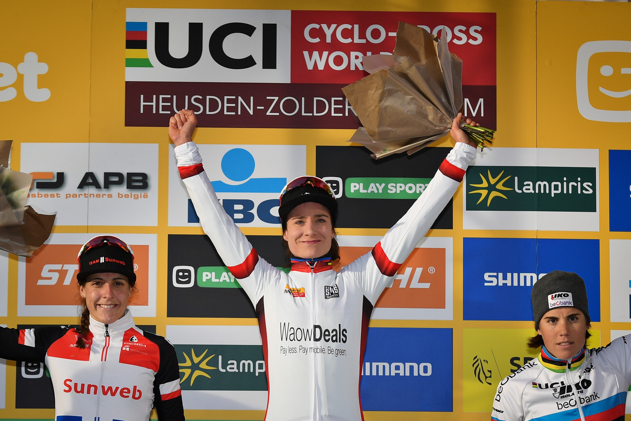 Marianne Vos has sealed the overall Cyclo-Cross World Cup title with a win in Pontchâteau ©Getty Images