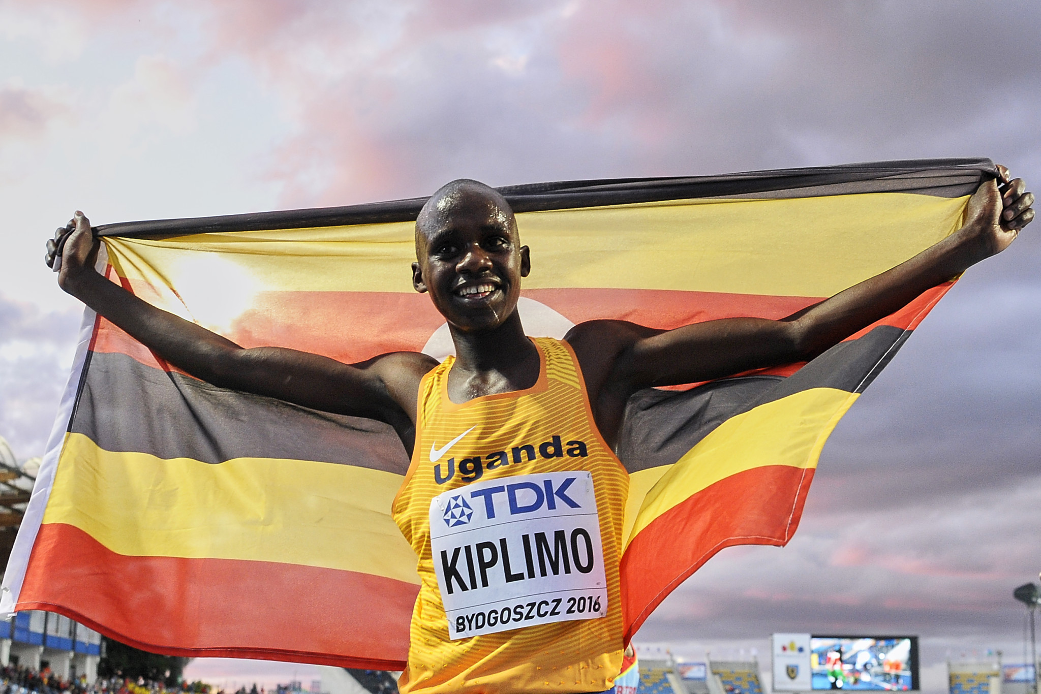 Jacob Kiplimo won his fifth race of the winter season at the IAAF Cross Country Permit event near Seville ©Getty Images