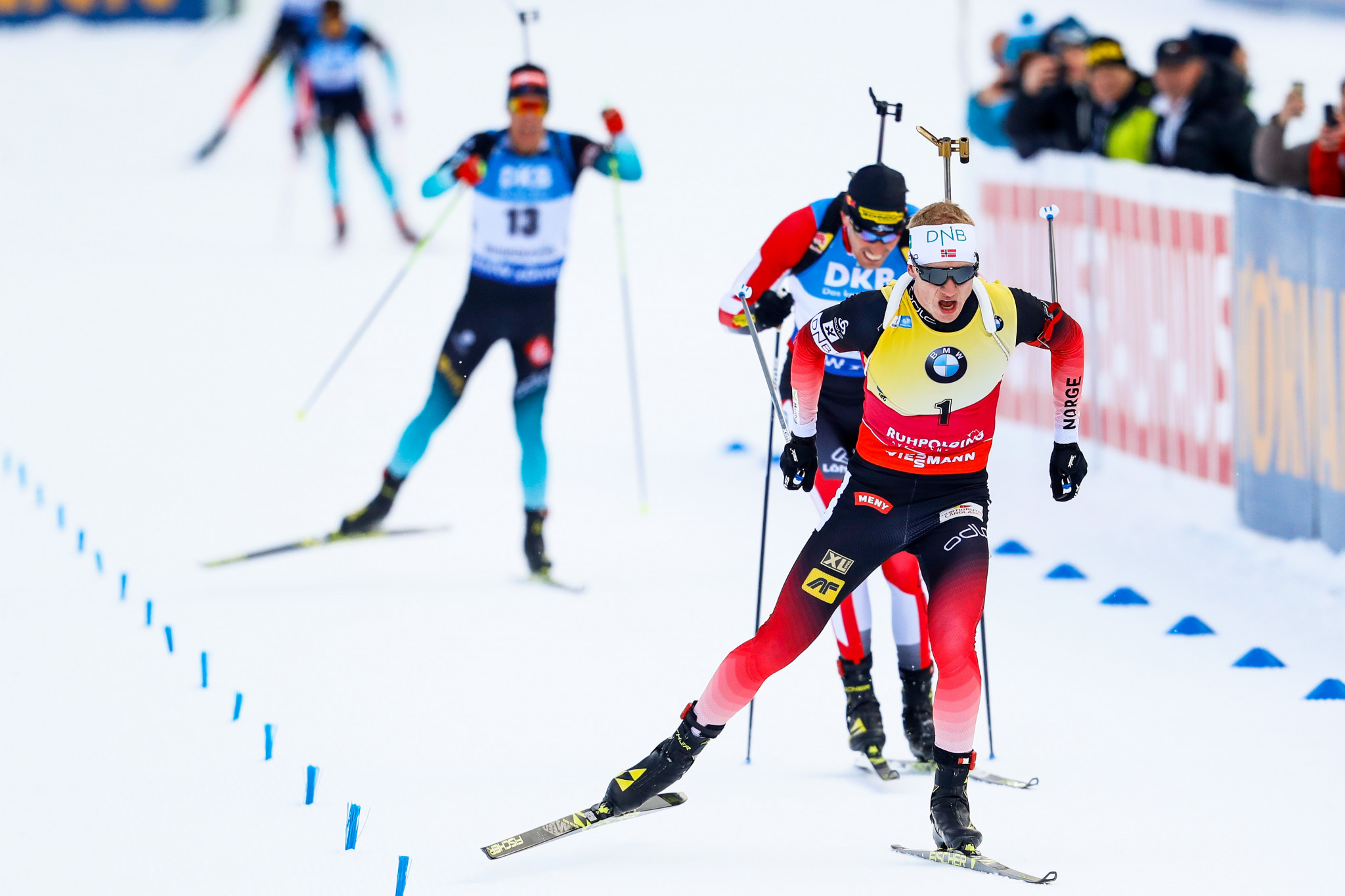 Bø completes hat-trick of victories at IBU World Cup in Ruhpolding