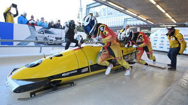 Friedrich sets Innsbruck track record in four-man bobsleigh event at IBSF World Cup
