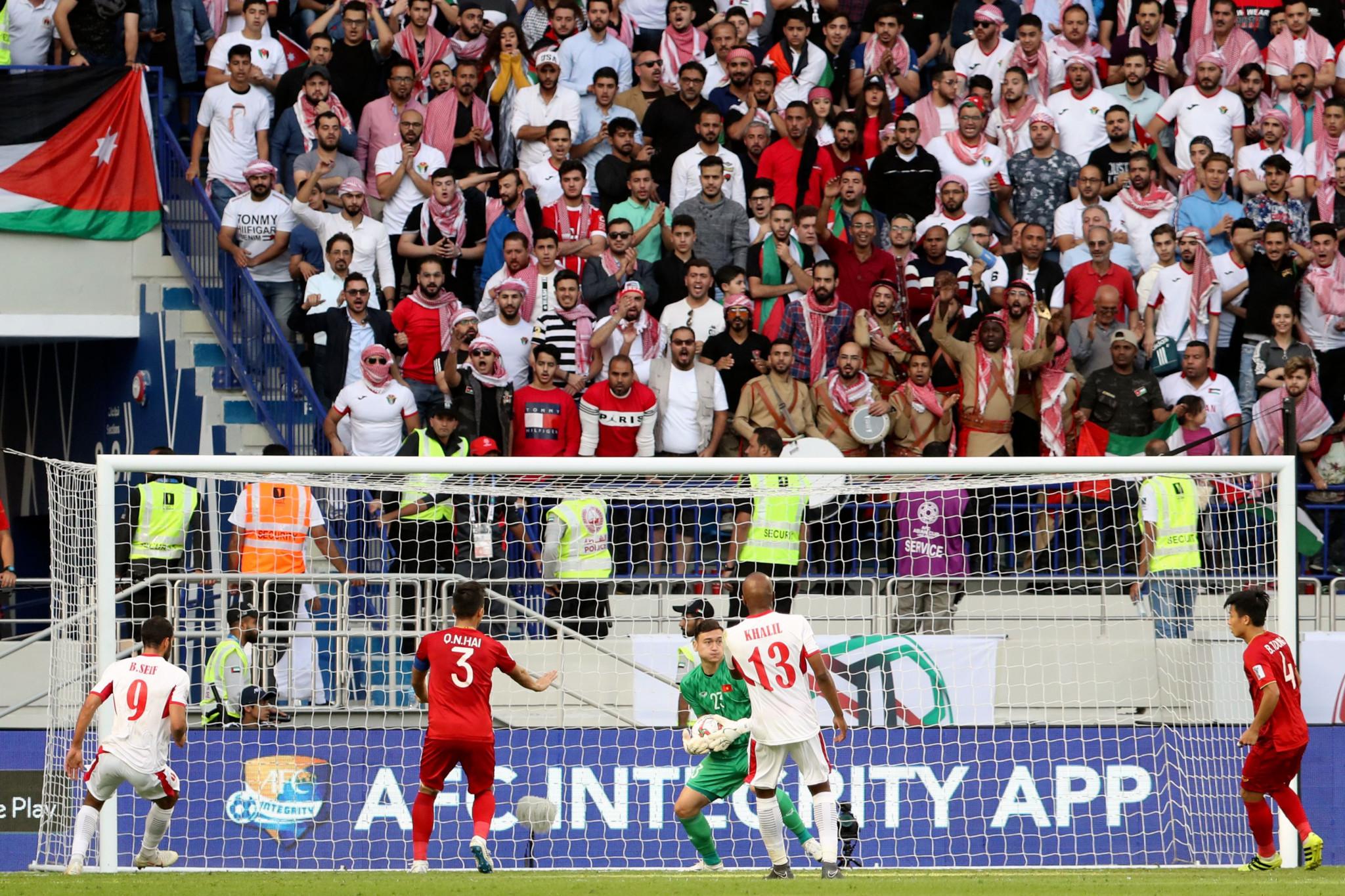 Vietnam beat Jordan on penalties to reach the quarter-finals ©Getty Images