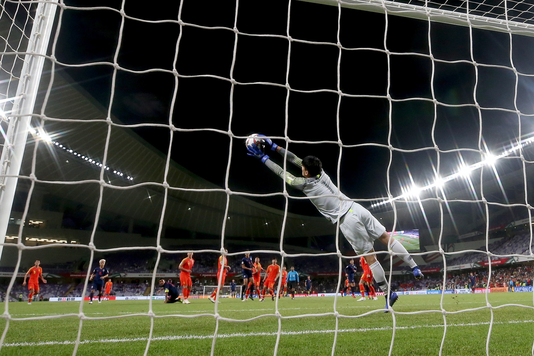 China fought back from a goal down to overcome Thailand ©Getty Images