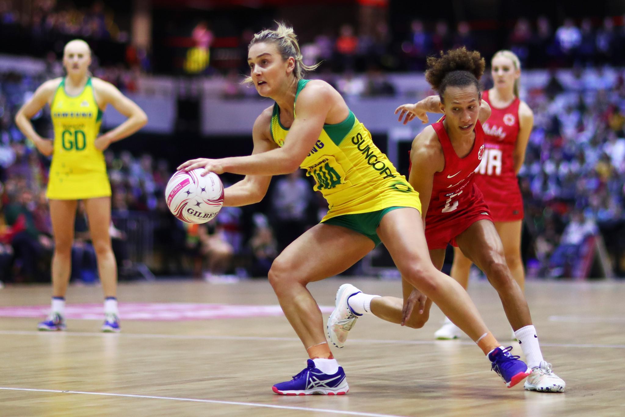 Australia secure fifth Netball Quad Series title despite defeat to England