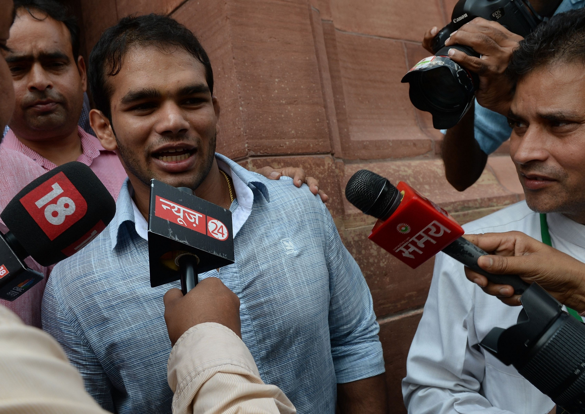 Narsingh Yadav has always insisted his food was spiked and he did not dope intentionally ©Getty Images