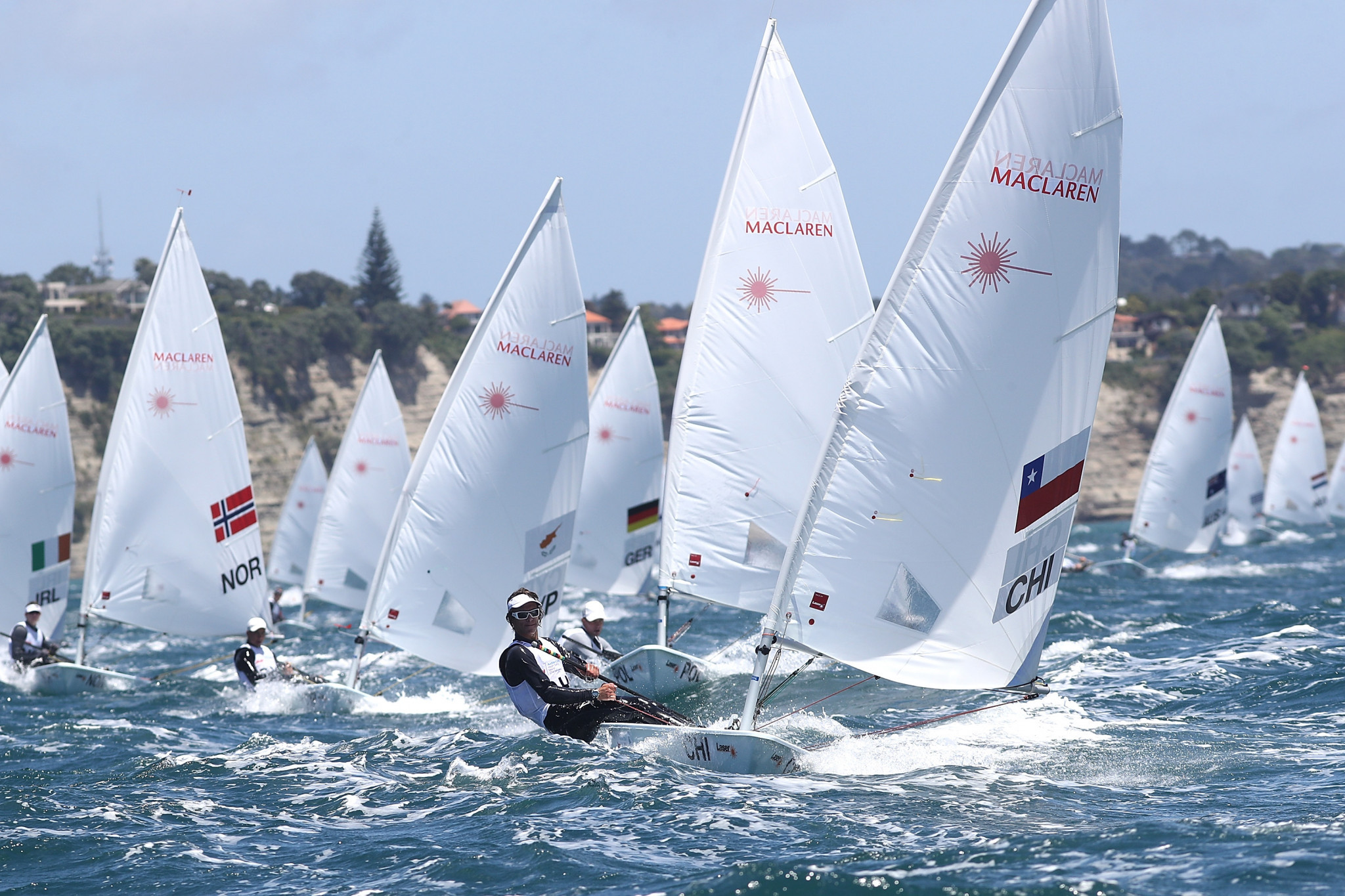 In the 49er class and four others, including the laser radial, only two National Olympic Committees from Lima 2019 will qualify for Tokyo 2020 ©Getty Images